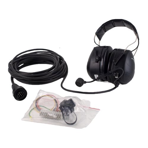 Headset w. 10m cable